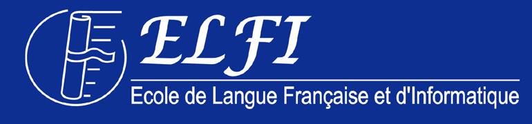 ELFI – Ecole de Langue Française et d'Informatique logo